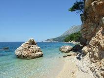 Costa da Croácia Fotos de Stock