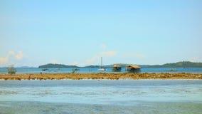 A costa da ilha de Siargao Imagem de Stock Royalty Free