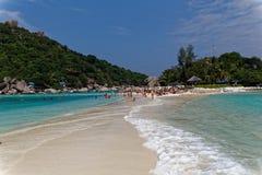Costa da ilha de Tao, Tailândia Foto de Stock Royalty Free