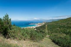 Costa da Morte, al norte de España Foto de archivo libre de regalías