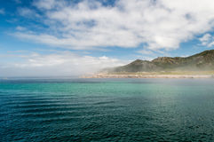 Costa da Morte, au nord de l'Espagne Photos stock