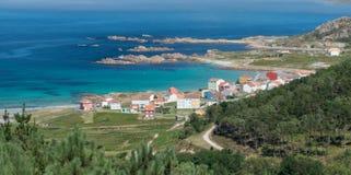 Costa da Morte, au nord de l'Espagne Image libre de droits