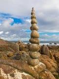 Costa da Morte in  Galicia Stock Image