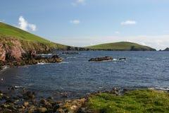 Costa da península ocidental do Dingle Fotografia de Stock Royalty Free