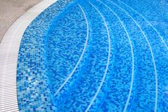 Costa da piscina Imagens de Stock