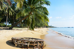 Costa da praia Fotografia de Stock Royalty Free