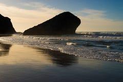 Costa da praia de Monsul Fotos de Stock Royalty Free
