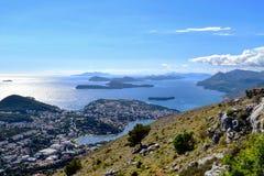 Costa Dalmatian da Croácia Imagens de Stock Royalty Free