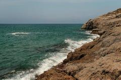 Costa Daurada spanjorkust Royaltyfri Bild