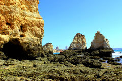 Costa de Algarve Imágenes de archivo libres de regalías