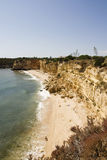 Costa de Algarve, Portugal, Europa Imagenes de archivo