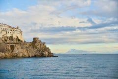 Costa de Amalfi Fotografia de Stock Royalty Free