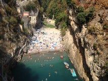 Costa de Amalfi foto de archivo libre de regalías