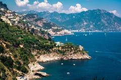 Costa de Amalfi imagen de archivo libre de regalías