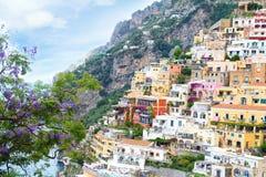 Costa de Amalfi fotos de archivo