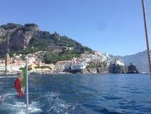 A costa de Amalfi Foto de Stock