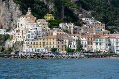 Costa de Amalfi Imágenes de archivo libres de regalías