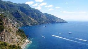 Costa de Amalfi Imagenes de archivo