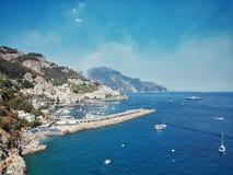 Costa de Amalfi Imagens de Stock