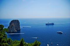 Costa de Amalfi - Italia Fotografía de archivo
