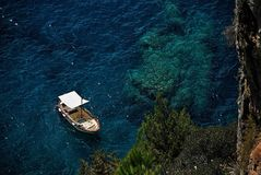Costa de Amalfi - Italia Fotos de archivo