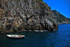 Costa de Amalfi - Italia Imagen de archivo