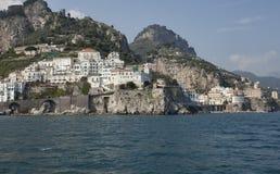 Costa de Amalfi, Italy Fotografia de Stock Royalty Free