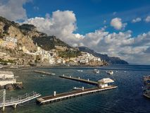 Costa de Amalfi, Italy fotos de stock royalty free