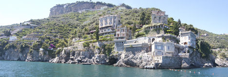 Costa de Amalfi, Italy imagem de stock royalty free