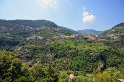 Costa de Amalfi, Ravello Fotografía de archivo
