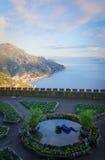 Costa de Amalfi - Ravello Imágenes de archivo libres de regalías