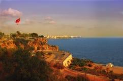 Costa de Antalya imágenes de archivo libres de regalías