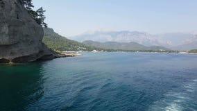 Costa de Antalya Visión desde el mar metrajes