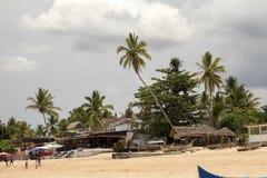 Costa de Atmosfera da ilha de turista, Madagáscar Fotografia de Stock Royalty Free