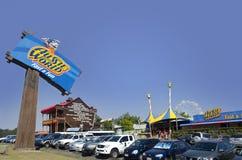 Costa de Aussie World e da luz do sol do bar de Ettamogah imagens de stock royalty free