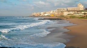 Costa costa de Ballito, Kwa Zulu Natal, Suráfrica Imágenes de archivo libres de regalías