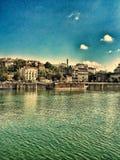 Costa de Belgrado Imagen de archivo libre de regalías