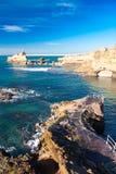 Costa de Biarritz fotos de stock