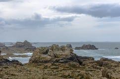 Costa de Bretaña Fotografía de archivo libre de regalías