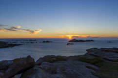 Costa de Bretaña Fotos de archivo libres de regalías