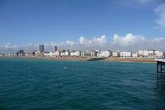 Costa de Brighton Fotografía de archivo