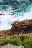 Costa de Brittany foto de stock