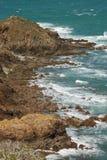 A costa de Brittany Imagem de Stock Royalty Free
