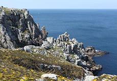 Costa de Brittany em França Imagens de Stock