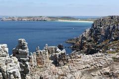 Costa de Brittany em França Foto de Stock Royalty Free