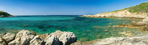 Costa de Córsega (france) Fotografia de Stock Royalty Free