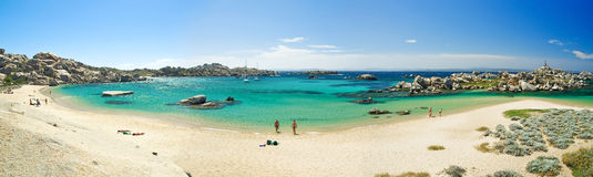 Costa de Córsega (france) Fotografia de Stock
