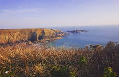 Costa de Caerfai Imagens de Stock Royalty Free