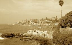 Costa de Cali Foto de archivo