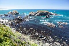 Costa 6 de Califórnia do norte Imagem de Stock Royalty Free